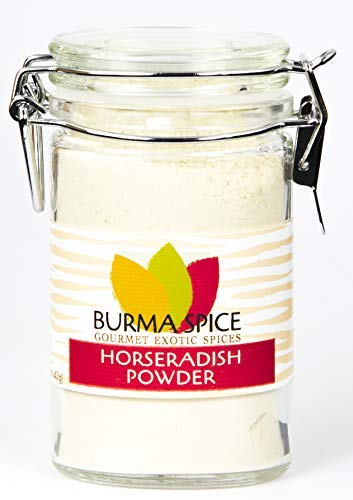 Horseradish Powder : Pure Natural Spicy Dried Seasoning Spice : Kosher Certified (1.5oz.)