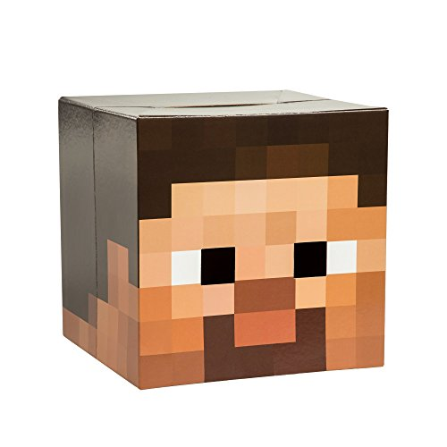 Steve Head Costume (Minecraft Steve Head Costume Mask)