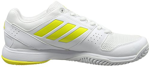 footwear White Yellow Court footwear Femme Jaune Tennis Adidas bright Chaussures De Barricade White W 1nHqP4