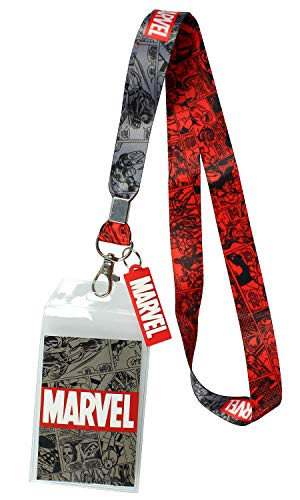 Marvel Lanyard ID Badge Holder, 2