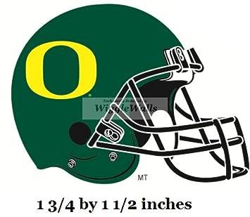 Amazon.com: 2 Inch Football Helmet Logo UO University of ...