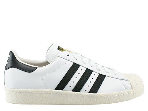 White 80s core White Adidas g61070 Pour Superstar crak Homme Baskets Black ZXW54qw
