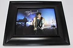 This beautiful signed collectible comes authentic with Lifetime Certificate of Authenticity Coa/Loa accompanied by our lifetime authenticity guarantee. This item has been signed in-person by the named celebrity. The item is in excellent condi...