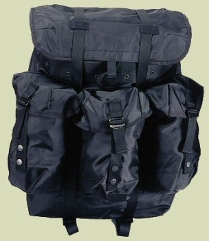 G.I. Style Large Black Alice Pack w/Frame, Outdoor Stuffs