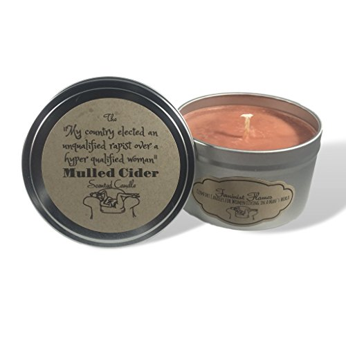 Feminist Mulled Cider Scented Soy Candle: