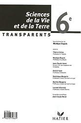 Sciences de la Vie et de la Terre 6e : Transparents