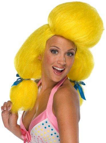 Humor Wig, Poodle Yellow