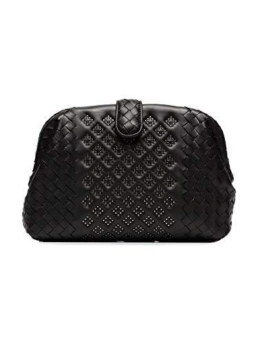 471351VBJU11000 Noir Pochette Bottega Veneta Femme Cuir OYqSxSEwa