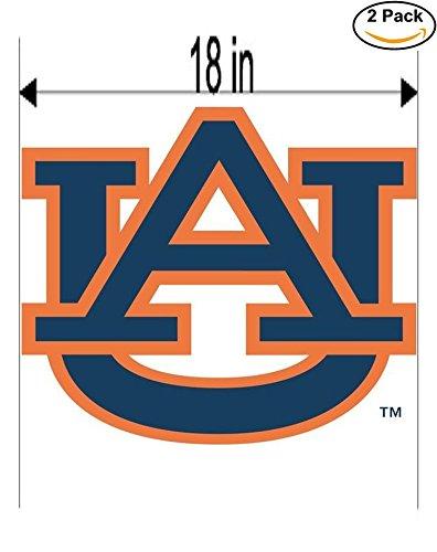 sity Vinyl Sticker Decal Logo NCAA 2 Window Stickers 18 Inches ()