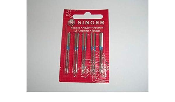 PANAMI Suministros para 10 agujas de máquina de coser Singer 14U ...