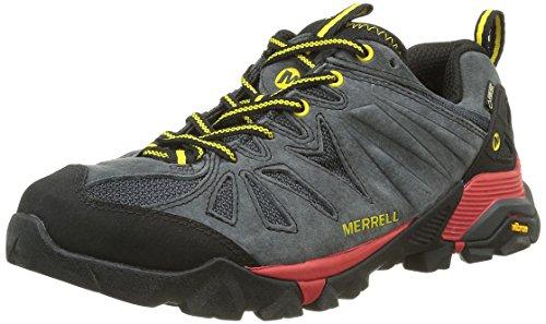 Merrell Mens Capra Gtx Scarpe Da Trekking E Da Trekking Grigio (granito)