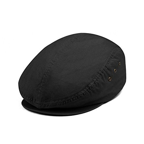 Washed Canvas Ivy Cap - Khaki W11S64C BLACK One -