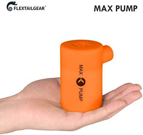 [해외]FLEXTAILGEAR 3600mAH 배터리 USB 충전식 경량 에어 펌프 - 에어 매트리스에 빠르게 팽창되고 바람을 흘리며 에어 매트 풀 장난감 플로트 수영링 라이프부호 에어 베드 ... / FLEXTAILGEAR 3600mAH 배터리 USB 충전식 경량 에어 펌프 - 에어 매트리...