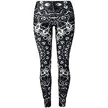 Mad Ink Women's girls XS S M L XL sexy digital Full 3D Print elasticity Leggings Pencil Pants tights