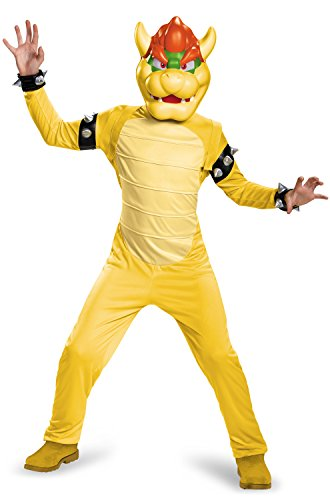 Bowser Deluxe Costume, Large -