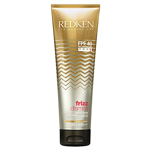 Redken Frizz Dismiss Fpf 40 Rebel Tame Smoothing Cream 8.5 Ounce