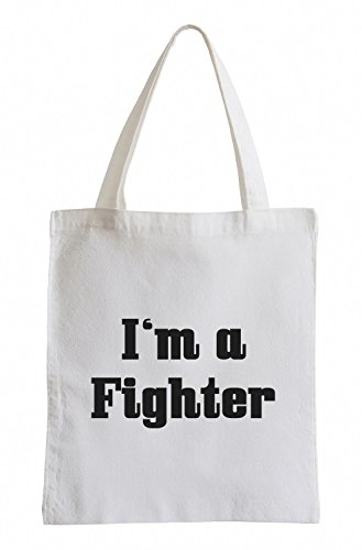 I'm a Fighter Fun Streetfighter UFC Jutebeutel