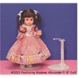 Metal Doll Stand For Dolls 6.5 To 11 Inches Tall