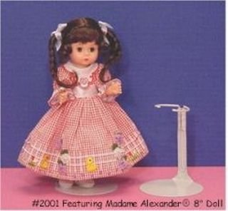 Kaiser Metal Doll Stand For Dolls 6.5 To 11 Inches ()