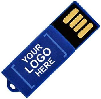 クリップUSBフラッシュドライブ 32GB 2835-Blue-25