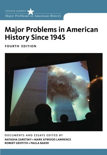 Major Problems in American History Since 1945 by Natasha for sale  Delivered anywhere in USA
