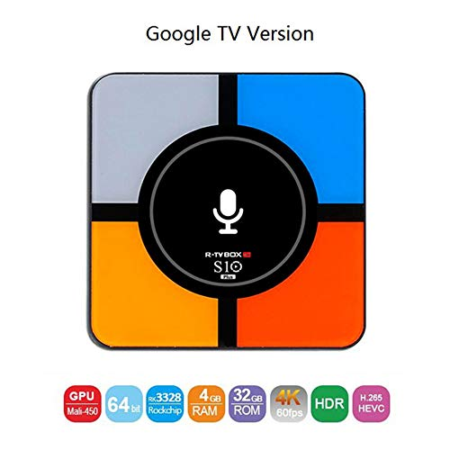 ASG TV Box Wireless Charging Set Top Box Android 8.1 Quad Core 2G 16G/4G 32G Support Decoder Format 4K VP9 Video Decoder, H.265/H.264 Video Decoder,B