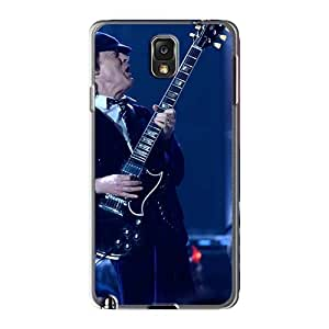 EricHowe Samsung Galaxy Note3 Shock Absorption Hard Phone Covers Allow Personal Design Fashion Ac Dc Band Skin [dws2527DvVc]