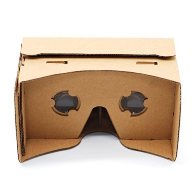 Google Cardboard,Generic 3D VR Headset DIY Virtual Reality Glasses For Maximum 6 Inch Cellphones IOS Apple iPhone and Android Smartphones