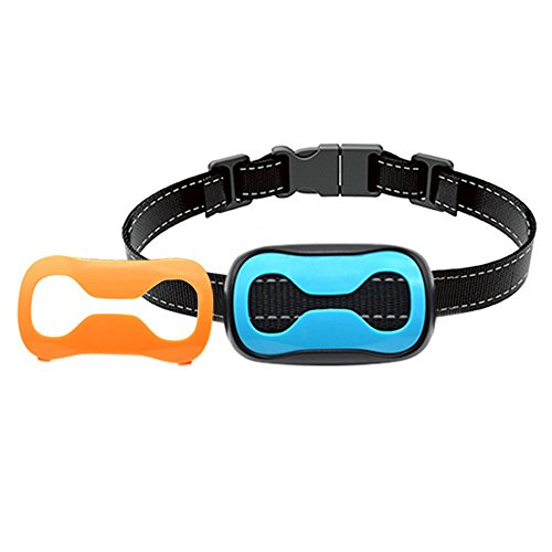 POP VIEW Dog Bark Collar Stop Barking with 7 Adjustable Levels Sound and Vibration No Shock Collar & Spare Batteries for Small Medium Large Dogs by POP VIEW