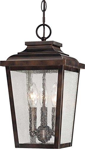 - Minka Lavery Outdoor Ceiling Lighting 72174-189, Irvington Manor Aluminum Pendant, 225 Watts, Bronze