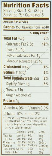Quaker Yogurt Chewy Granola Bar, Strawberry, 5 Bars , net weight 6.1 ounce (Pack of 6)