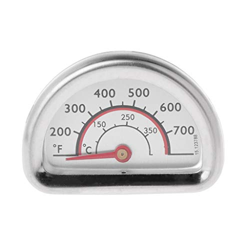 MEIYIN Stainless Steel Bimetal Thermometer Heat Indicator Heating Gauge BBQ for Grill
