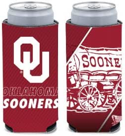 WinCraft NCAA Florida State University Seminoles 1-Pack 12 oz 2-Sided Design Can Cooler