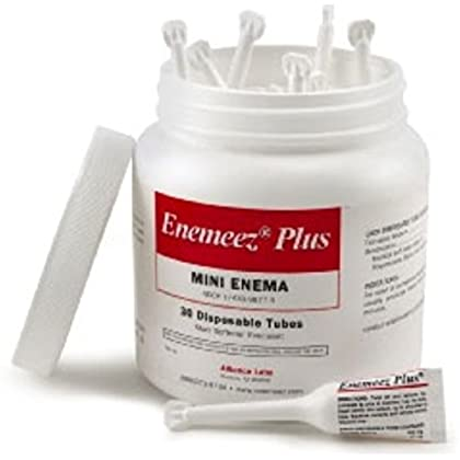 Image of Enemeez Plus Mini Enema with Anesthetic 30 ea (Pack of 2) Health and Household