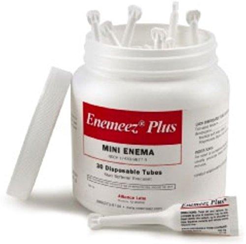 Enemeez Plus Mini Enema with Anesthetic 30 ea (Pack of - Plus Enemeez Enema