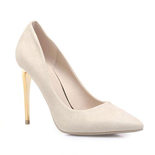 Material Beige Mujer Zapatos Vestir La Sintético Modeuse De wfO0qxI4
