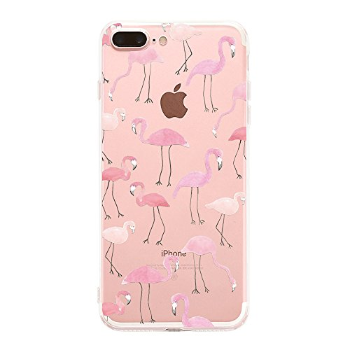 Price comparison product image Apple iPhone 7 Crystal Clear Shock Absorption Technology Bumper Soft TPU Cover Case for iPhone 7 – Clear (6, iPhone 7)