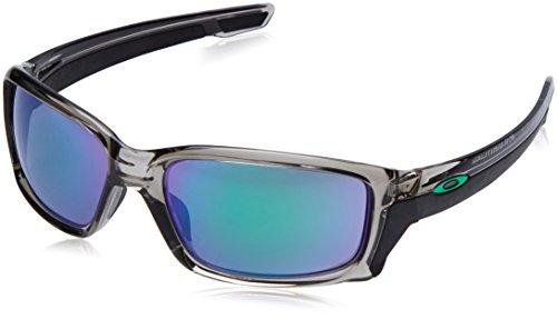 (Oakley Men's Straightlink Non-Polarized Iridium Rectangular Sunglasses, Grey Ink, 61.0 mm)