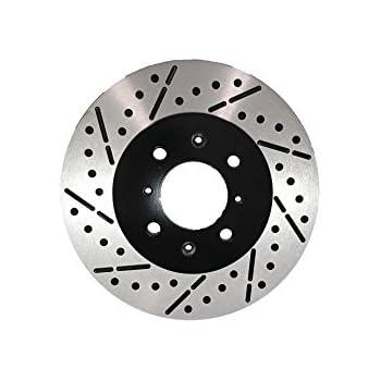 Toyota Sienna 98-03 Drill Slot Brake Disc Rotors FRONT