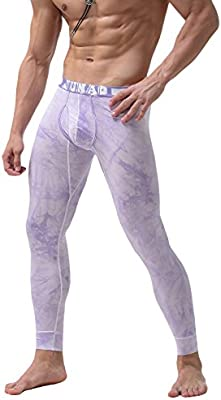 WUAMBO Mens Compression Performance Long Johns Thermal Underwear