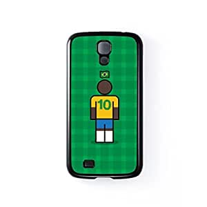 Brazil 10 Black Hard Plastic Case for Samsung? Galaxy S4 by Blunt Football International + FREE Crystal Clear Screen Protector