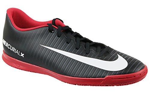 Nike Herren MercurialX Vortex III IC Fußballschuhe Schwarz