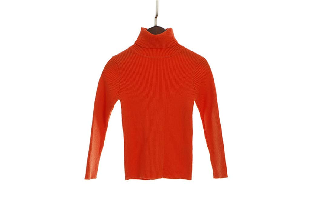 Sweater Kids Sweaters Autumn Girls Sweaters Baby Boys Pullover Winter Knitted Orange 12M by Santans