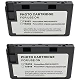 2 pack of Compatible print Ink-jet toner Cartridge to replace EPSON PictureMate 200 Series T5846 T5845-M for Epson Picture Mate Dash - PM 260, Flash - PM 280, Pal-PM 200, Snap- PM 240, Zoom - PM 290 inkjet photo printer. by DigiJet printing