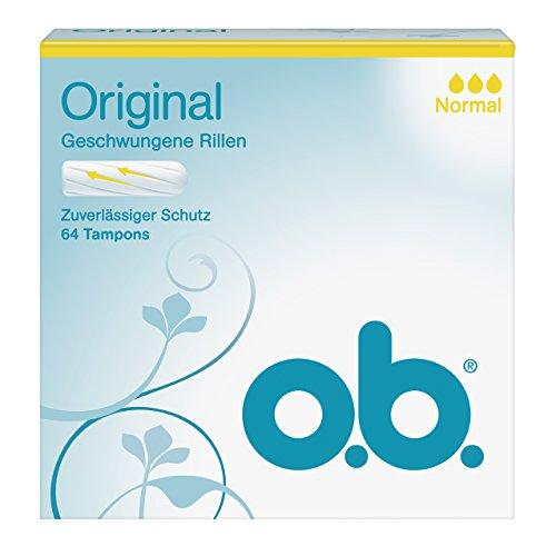 o.b. Original Normal 64er, 1er Pack (1 x 64 Stück)