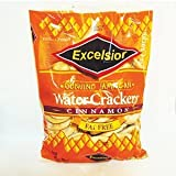 Excelsior Water Crackers Cinnamon 11.85 OZ by The Jamaican Biscuit Company Limited