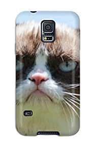 New Arrival Case Cover With OoDBxJf4831ejevz Design For Galaxy S5- Grumpy Cat Tardar