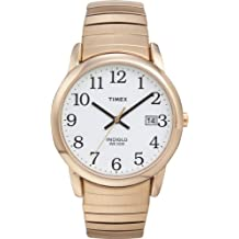 Timex Men's T2H301 Easy Reader Gold-Tone Stainless Steel Expansion Band Watch