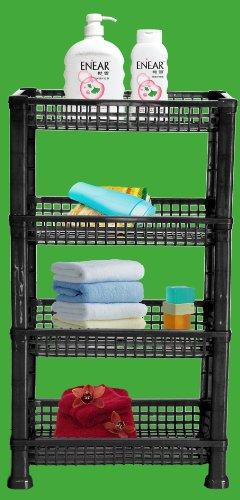 UPC 813064010928, American Dream 4-tier Storage Basket (Black)