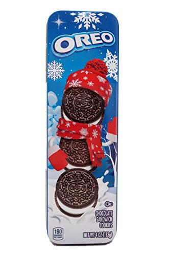Oreo Chocolate Sandwich Cookies Holiday Tin, 4 oz - Holiday Gift Tin